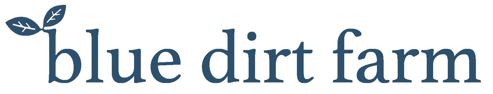 Blue Dirt Farm Logo