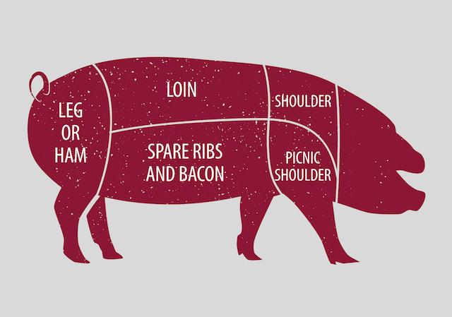 Half hog July 2021 Geneva Meats