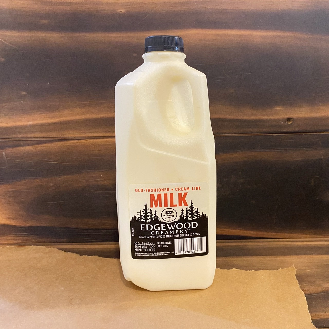 Milk, Half Gallon