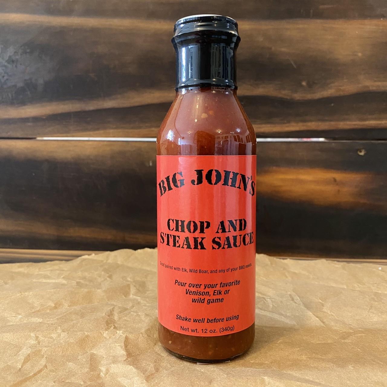 Big John's Chop & Steak Sauce