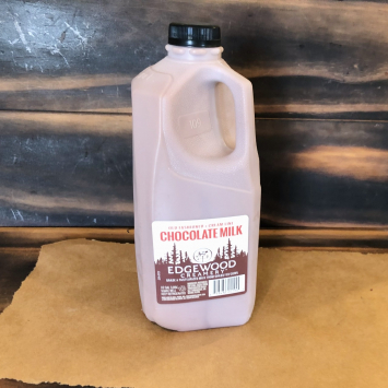Chocolate Milk, Half Gallon