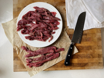 Sirloin Steak Fajita Strips