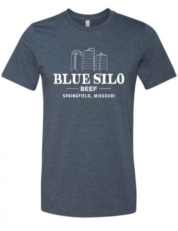 Blue Silo Logo T-Shirt