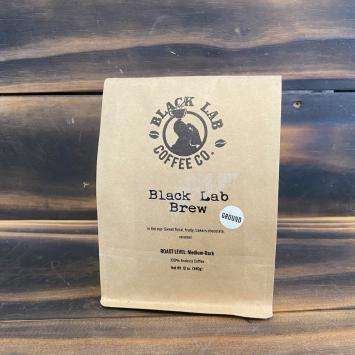 Black Lab Brew Ground Coffee, 12 oz