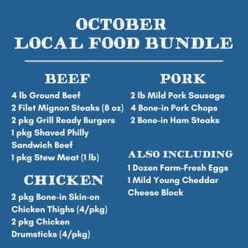 October Local Food Bundle (20 lb)
