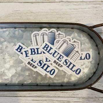 Blue Silo Beef Sticker