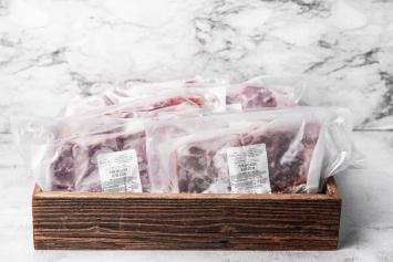 (10 pkg) Pork Blade Steaks Bulk Bundle