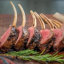 Lamb Rib Rack, Frenched