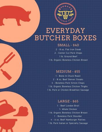 Everyday Butcher Box - Large $65