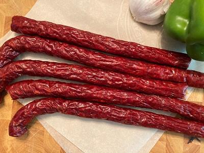 Pepperoni sticks (3)
