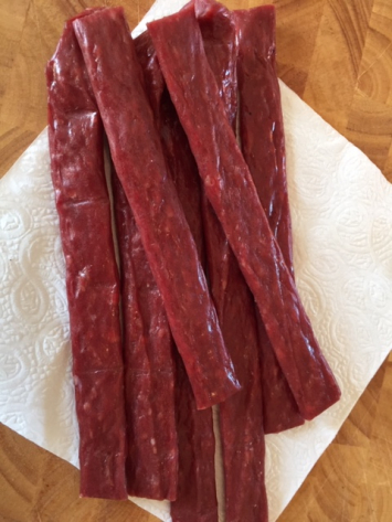 Beef jerky (ground beef)
