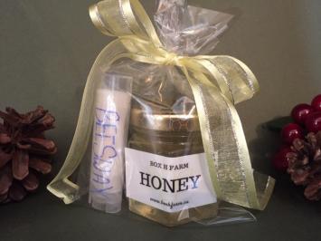 Honey & Lip Balm gift set