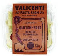 Gluten Free Roasted Portobello Mushroom w/ Gorgonzola Ravioli