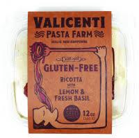 Gluten-Free Lemon Ricotta & Fresh Basil Ravioli