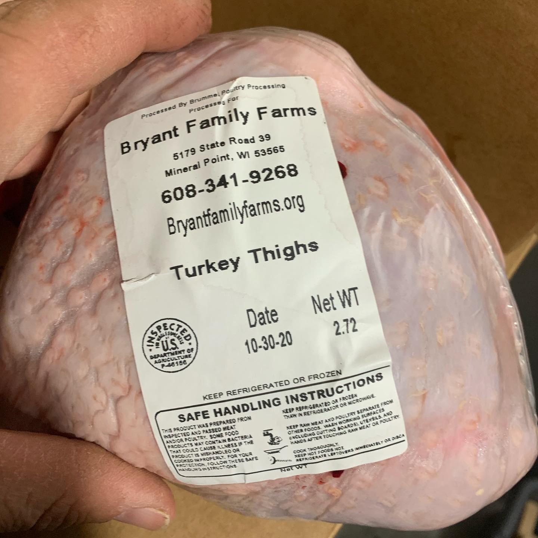 Turkey - Thighs