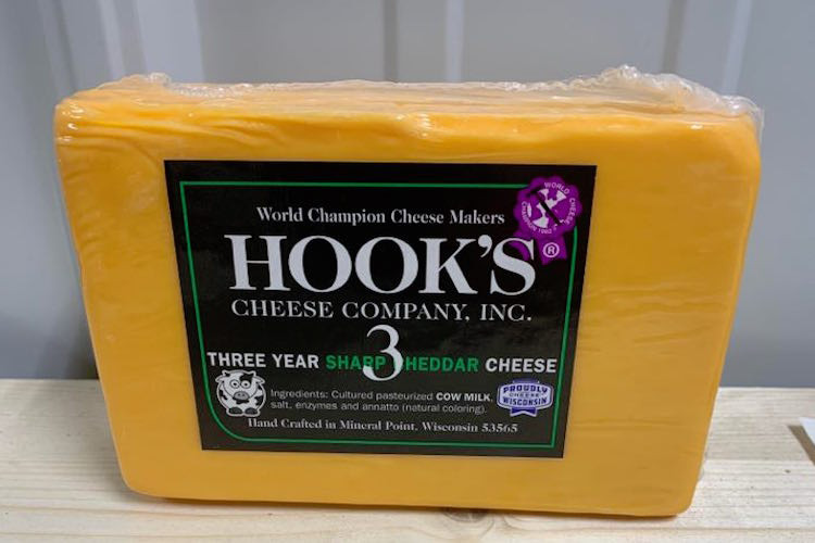 Hook's 3 Year Cheddar (Orange)