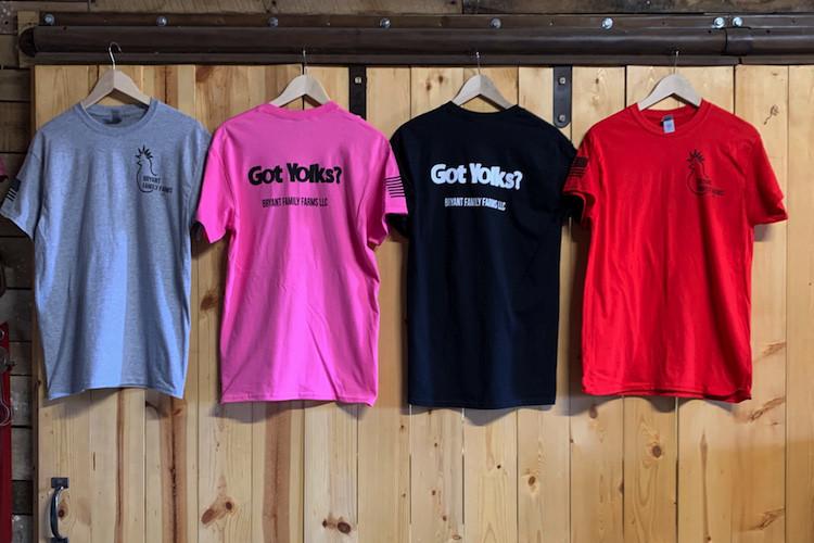 BFF Got Yolks T-Shirts