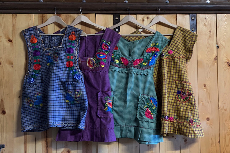 Aprons made in Mexico