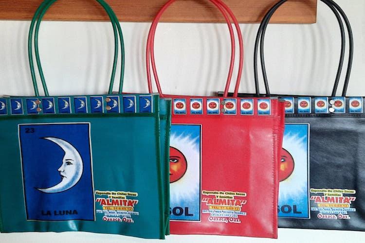 Vinyl Market Tote Bag, Oaxaca