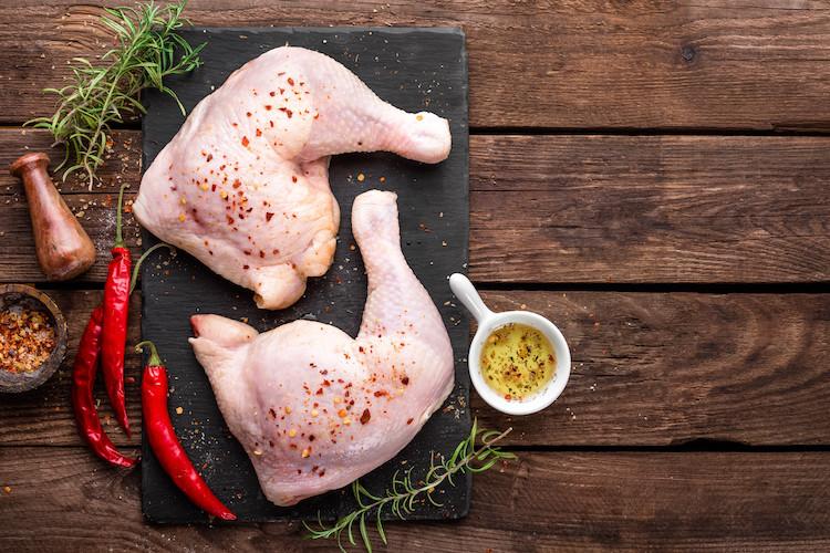 Fresh - Never Frozen  Chicken Leg Quarters