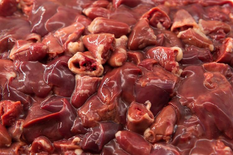 Fresh - Never Frozen  Chicken Hearts & Livers