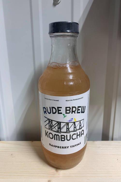Kombucha - Raspberry Thyme