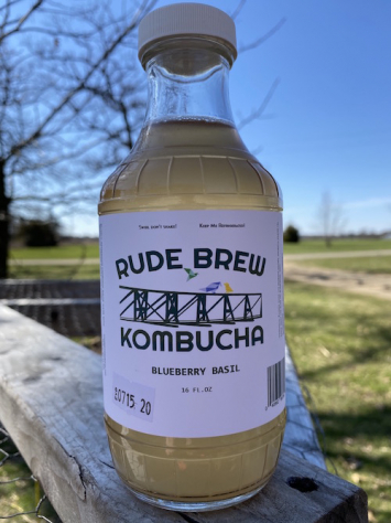 Kombucha- Blueberry Basil