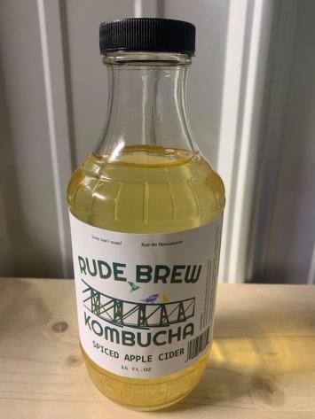 Kombucha- Spiced Apple Cider