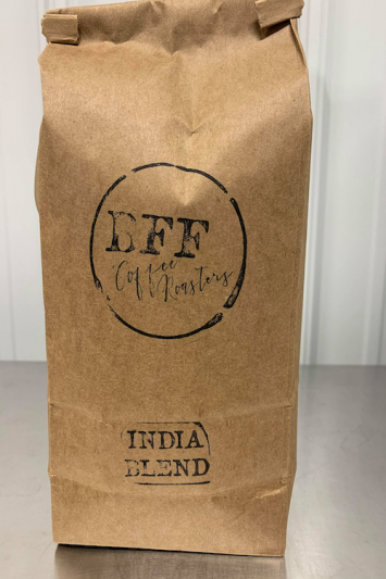 1lb bag of BFF Coffee Roasters- India Blend
