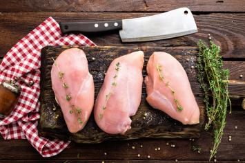 Fresh - Never Frozen  Chicken Boneless, Skinless Chicken Breast