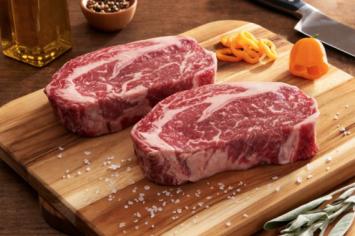 Ribeye Steak - 2 steaks per pack