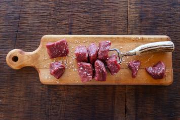 Beef Tenderloin Kabobs