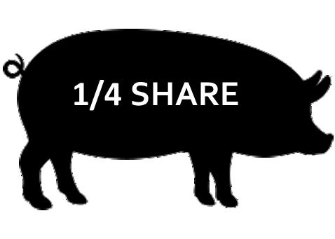 1/4 Pork Share