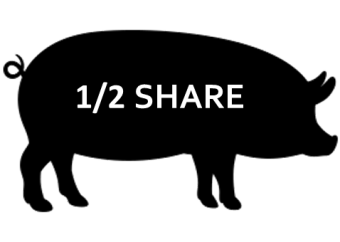 1/2 Pork Share