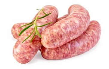 Sausage - in casings