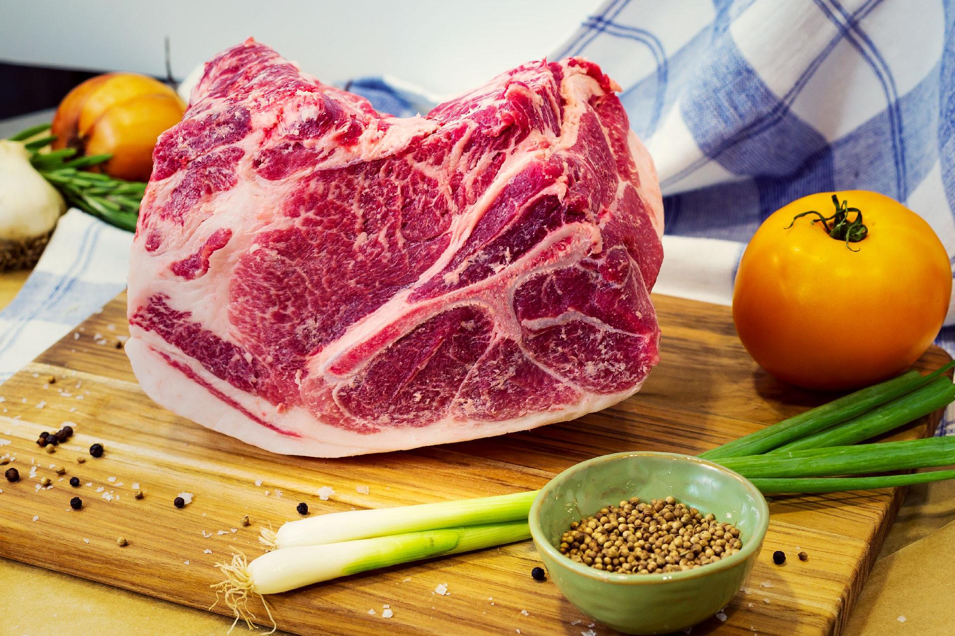 Pork Shoulder Roast, Bone-In