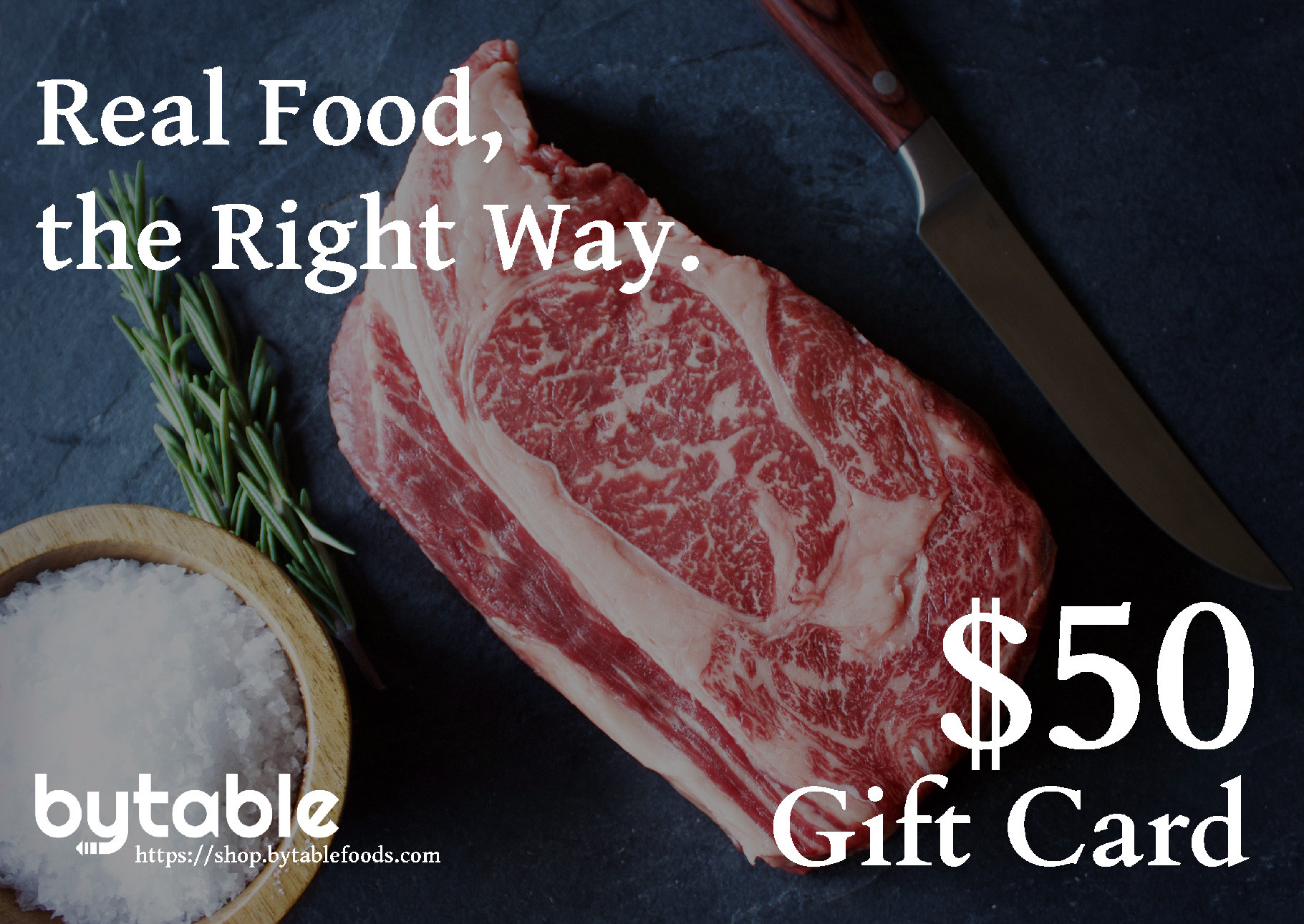 $50 Bytable Digital Gift Card