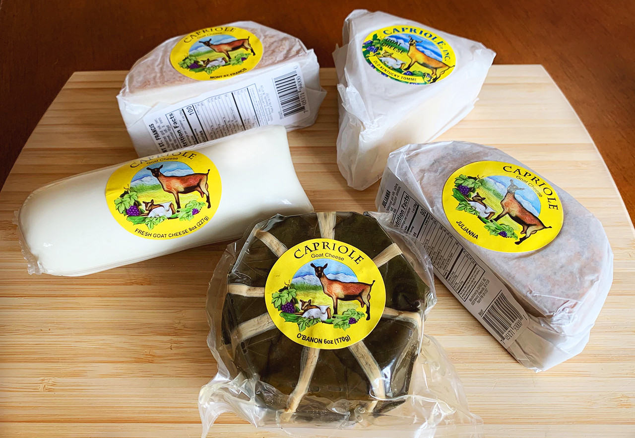 Capriole Goat Cheese Assortment