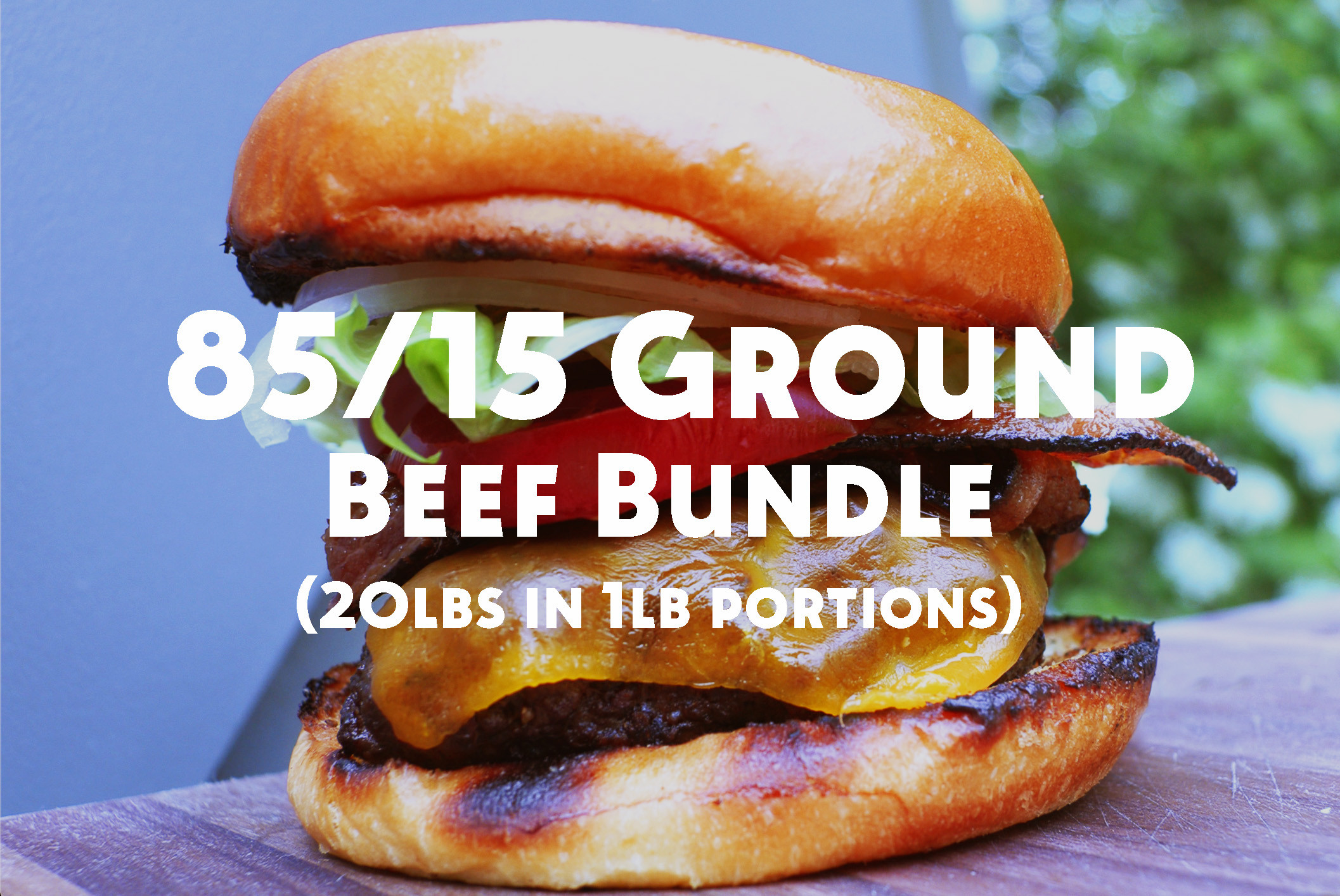 Callicrate 85% Lean Ground Beef Bundle (20 lbs)