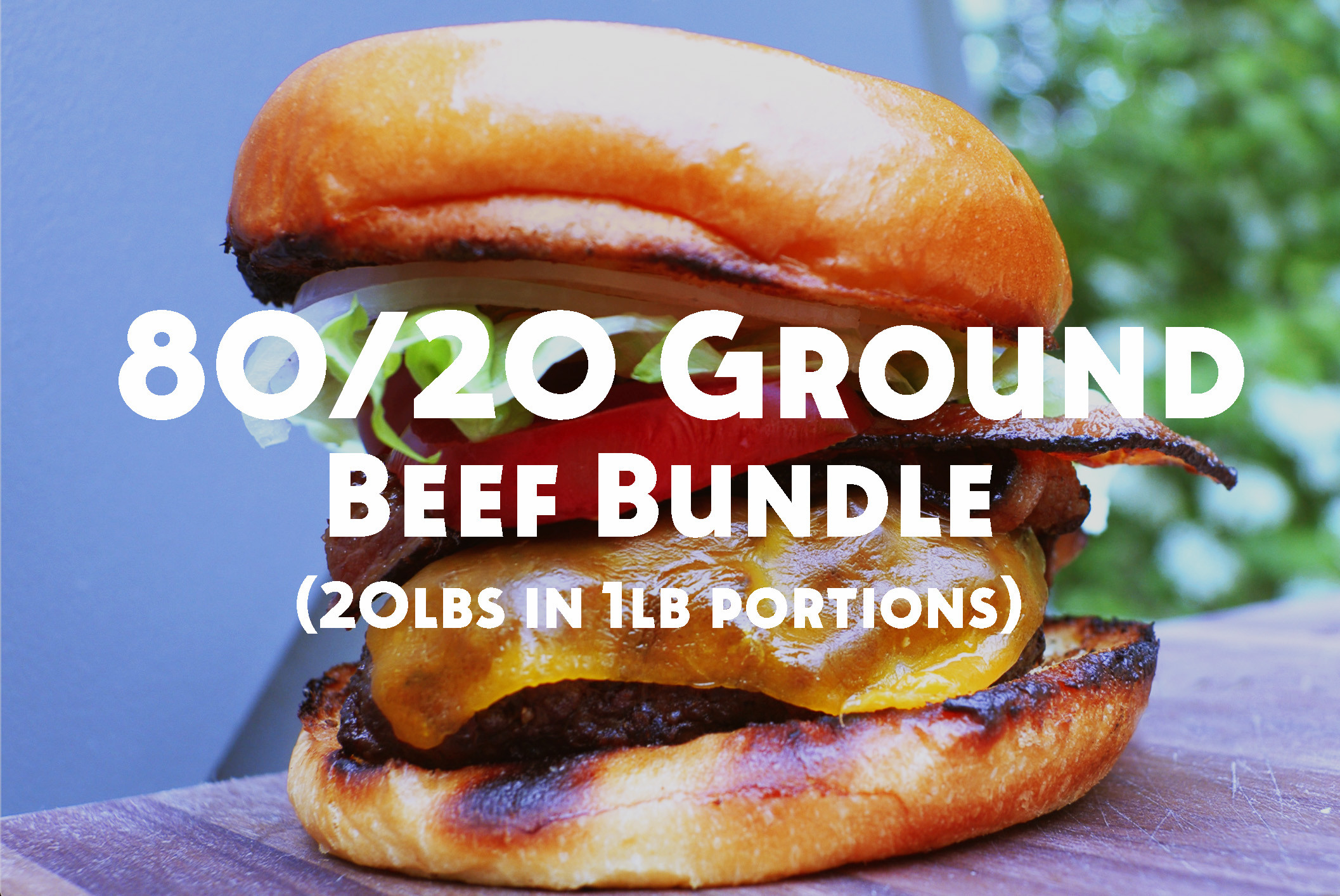 Callicrate 80% Lean Ground Beef Bundle (20 lbs)
