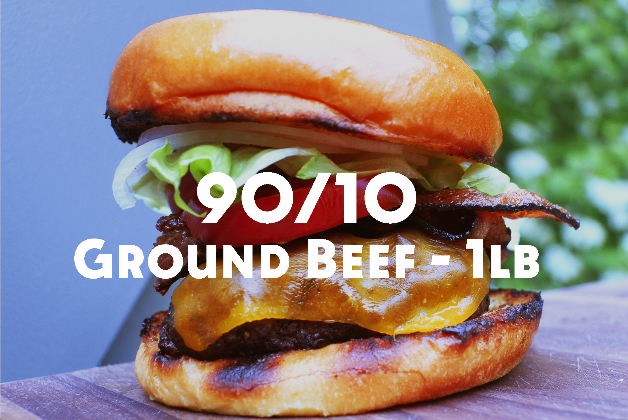 Ground Beef - 90% Lean