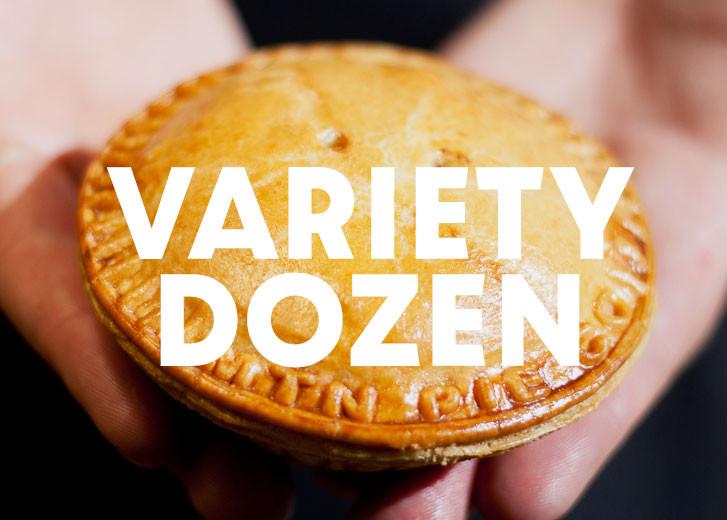 Meat Pie Variety Dozen