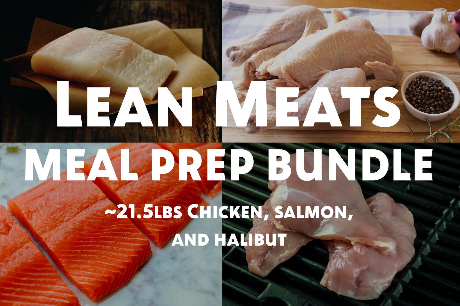 Lean Meats Meal Prep Bundle (Small)
