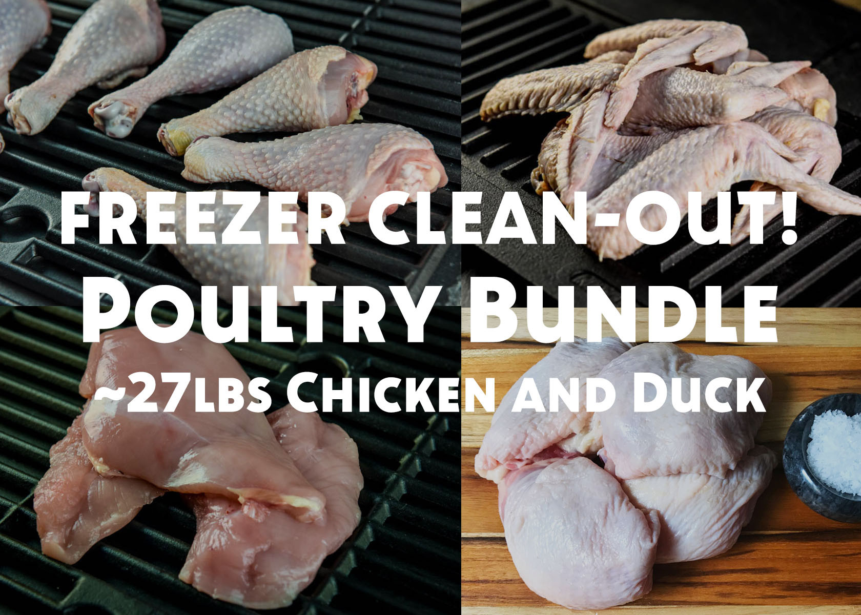 White Oak Pastures Poultry Bundle