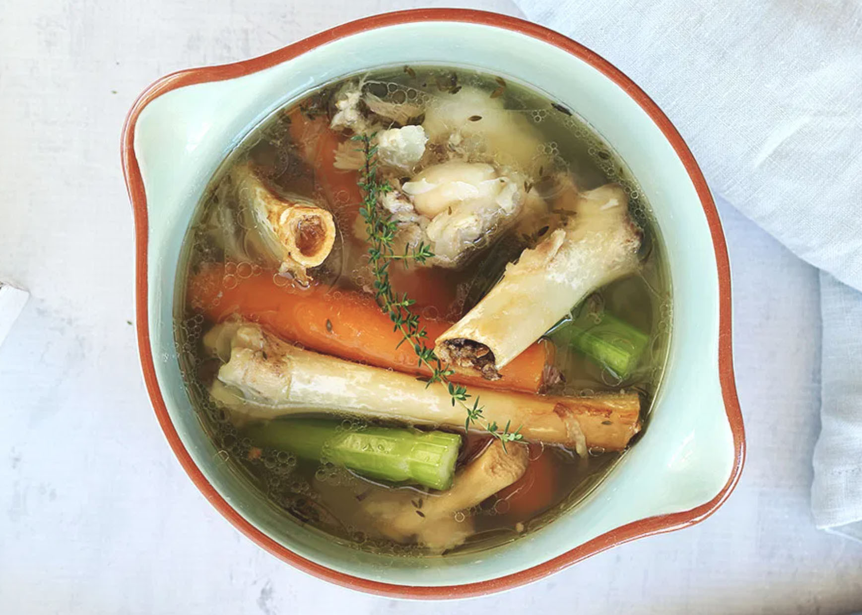 Grassfed Lamb Broth Bones