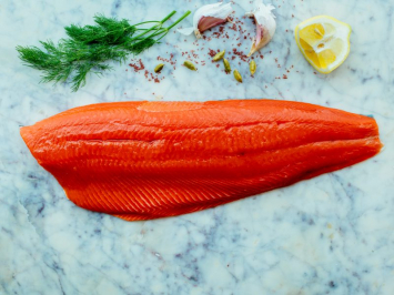 Wild Caught Alaskan Sockeye Salmon