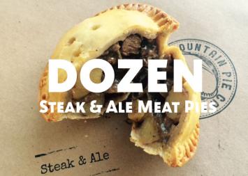 Dozen Steak and Ale Meat Pies