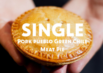 Single Pork Pueblo Green Chile Meat Pie