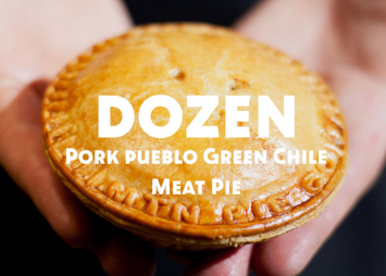 Dozen Pork Pueblo Green Chile Meat Pies