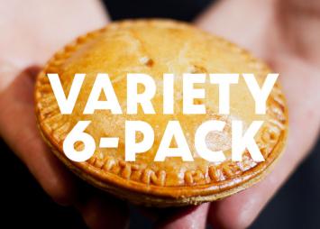 Meat Pie Variety Half Dozen
